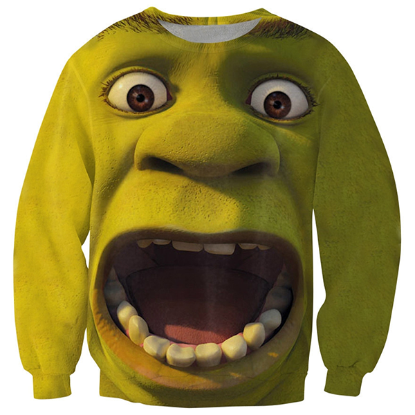 Shrek Face Shirts
