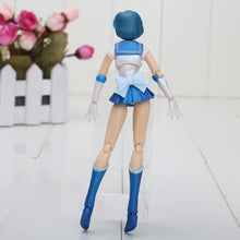 Anime Sailor Moon Sailor Mercury Mizuno Ami PVC Toy