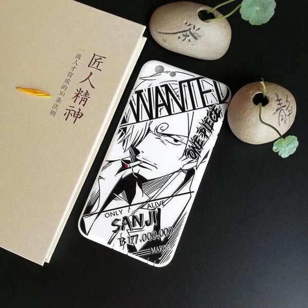 Sanji Soft Cover Case For iPhone