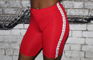 RED CYCLING SHORTS - SOROTTEN