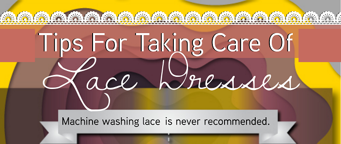 Tips For Taking Care Of Lace Dresses