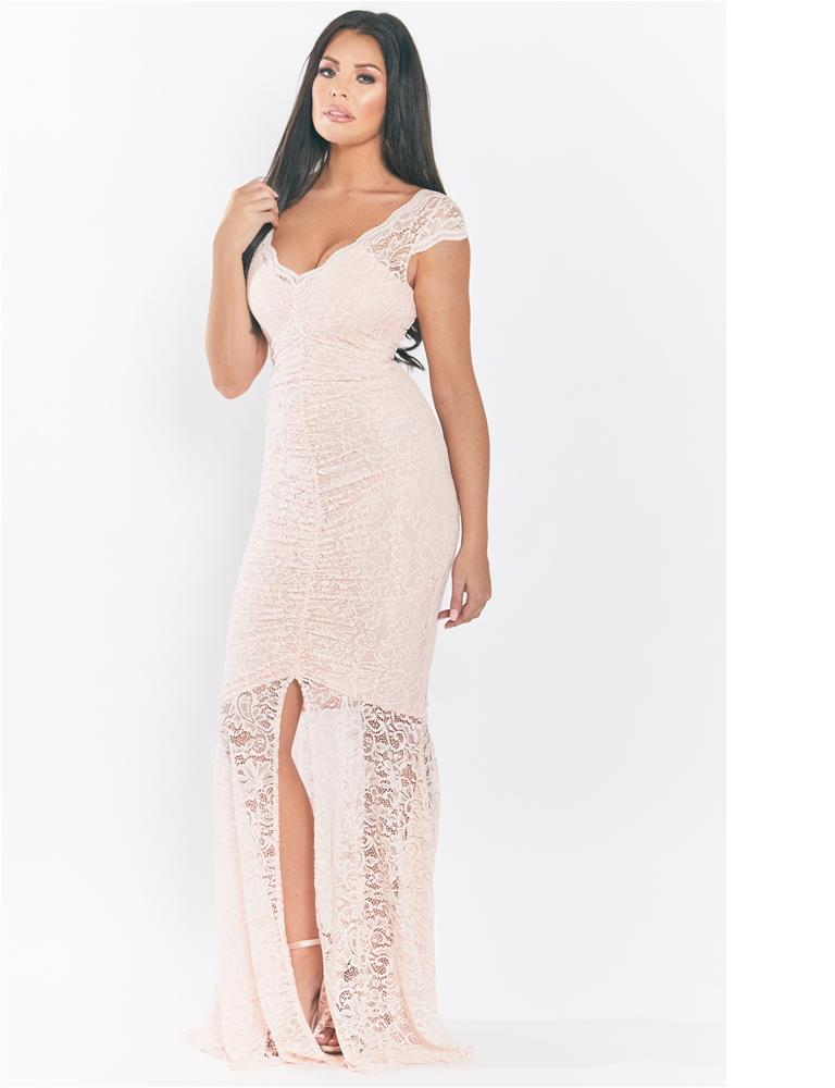 Kaylie Lace Maxi Dress