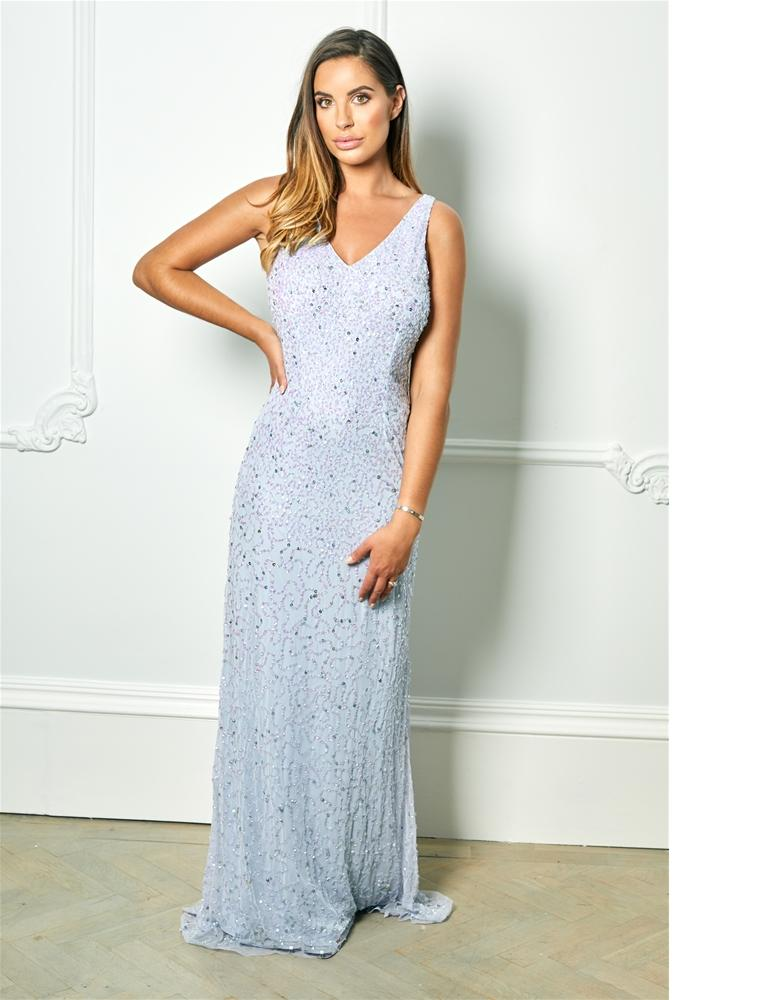 Lindiana Sequin maxi dress