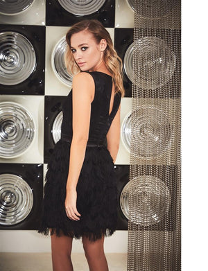 Coco Fringed Mini Dress