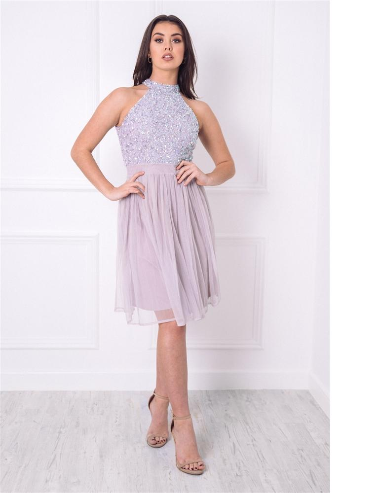 Selianna Sequin Midi Dress