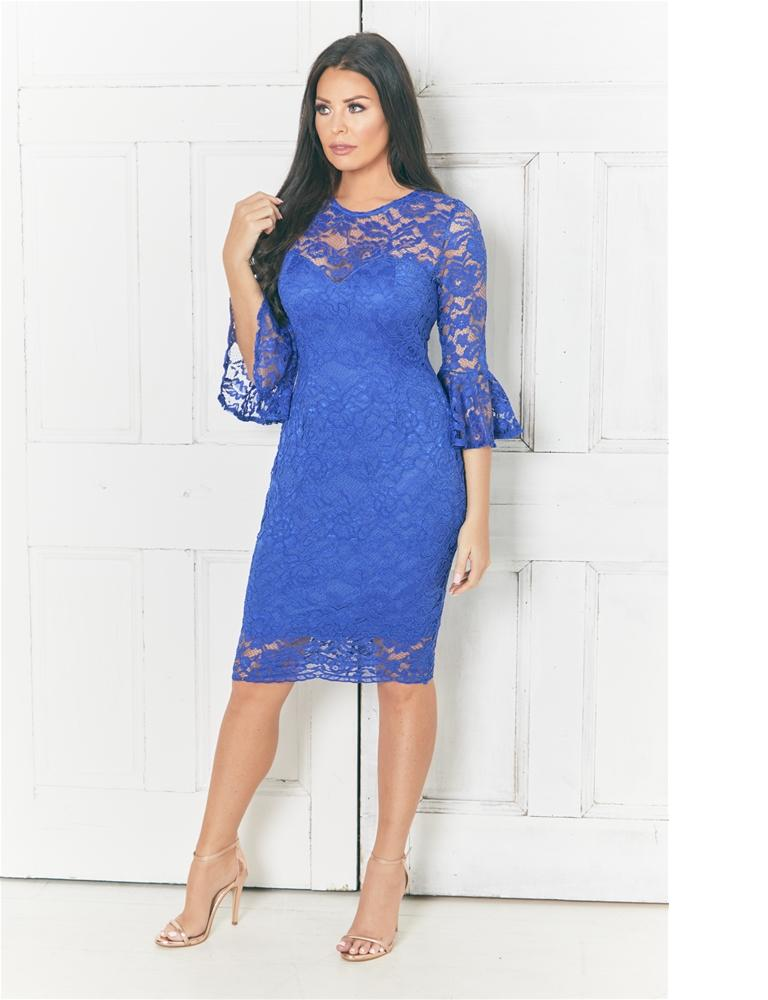 Luisa Lace Bodycon Dress