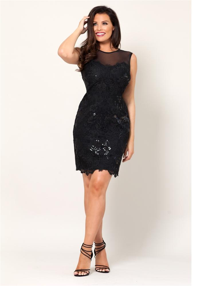 Natacha All Over Lace Dress
