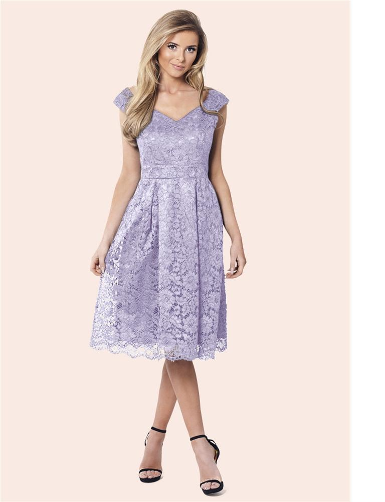 Jadey Lace Midi Dress