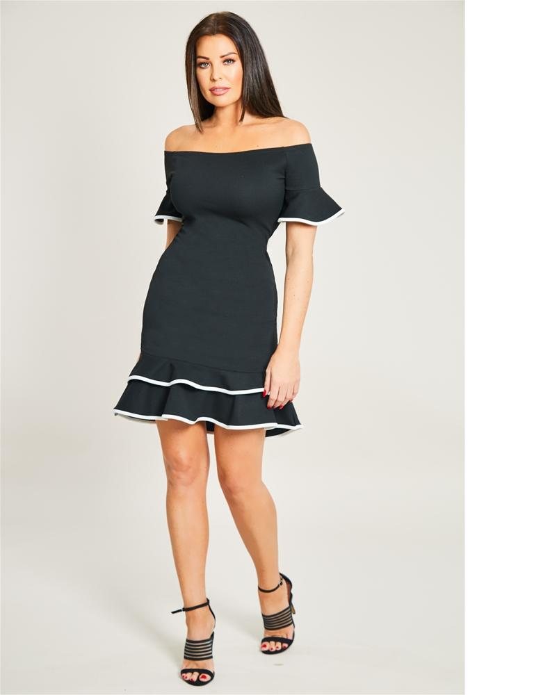 Frances Bell Sleeve Dress