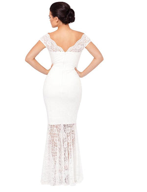 Carrisa Lace Wedding Gown