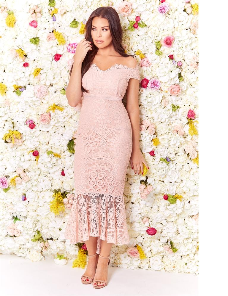 Cianna lace Hi-Lo dress