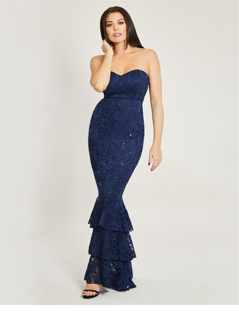 Arisha Sequin Maxi Dress