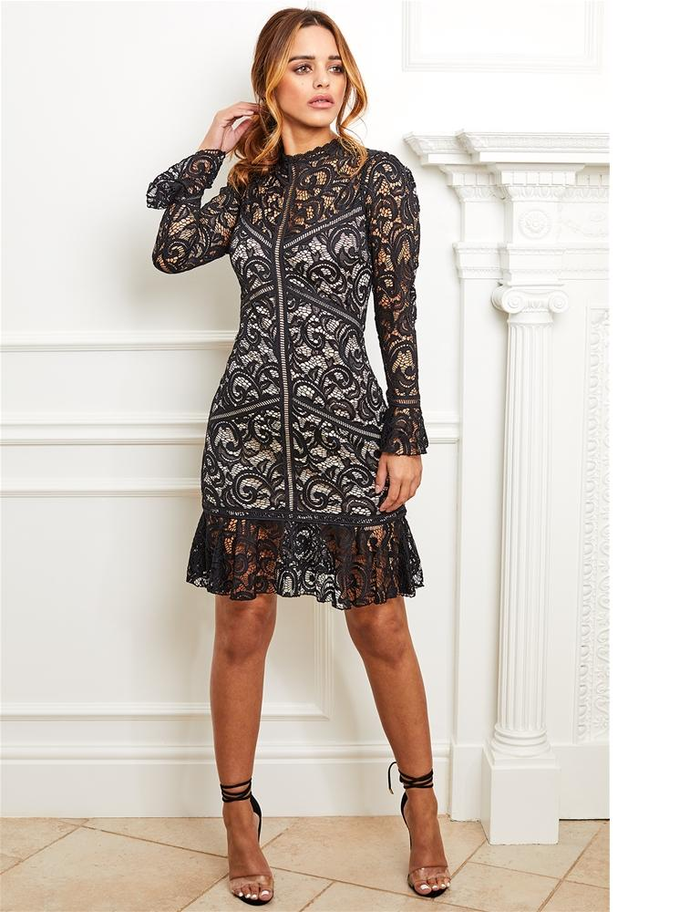 Dee long sleeve dress