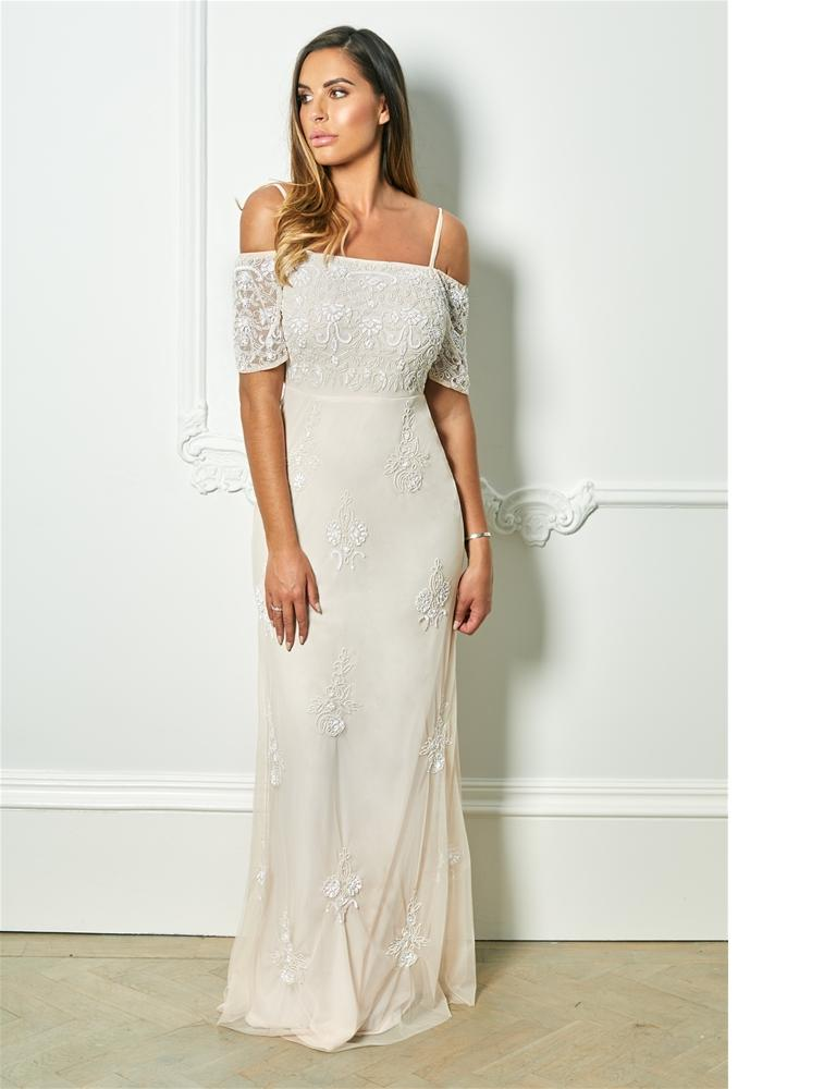 Jemmy embroidered wedding gown