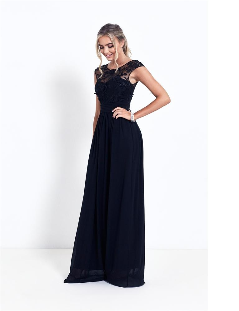 Nikalia Beaded Maxi Dress