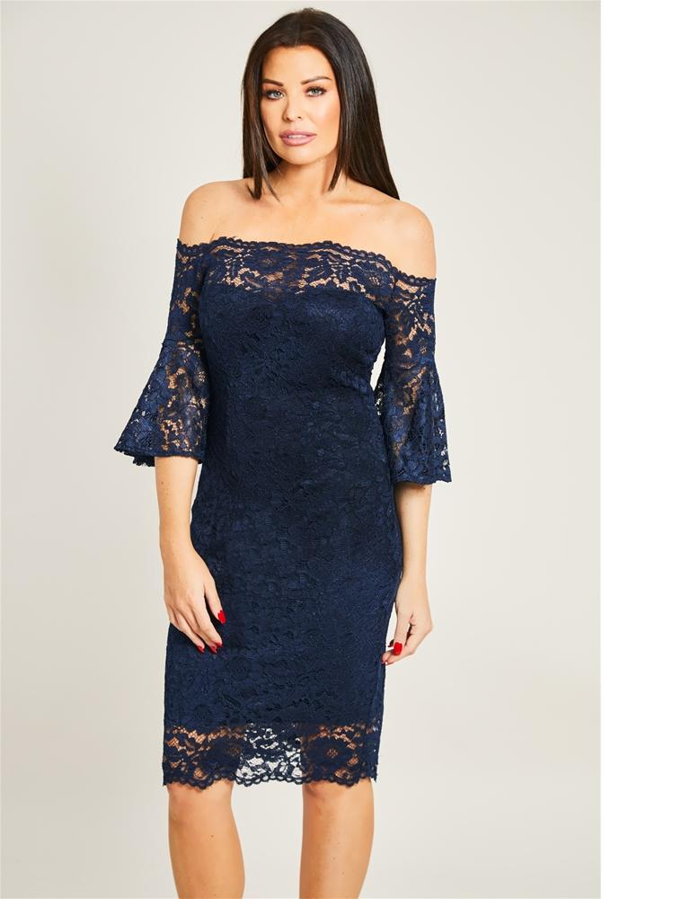 Ilana Lace Midi Dress