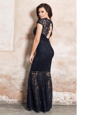 Alexus Lace Maxi Dress
