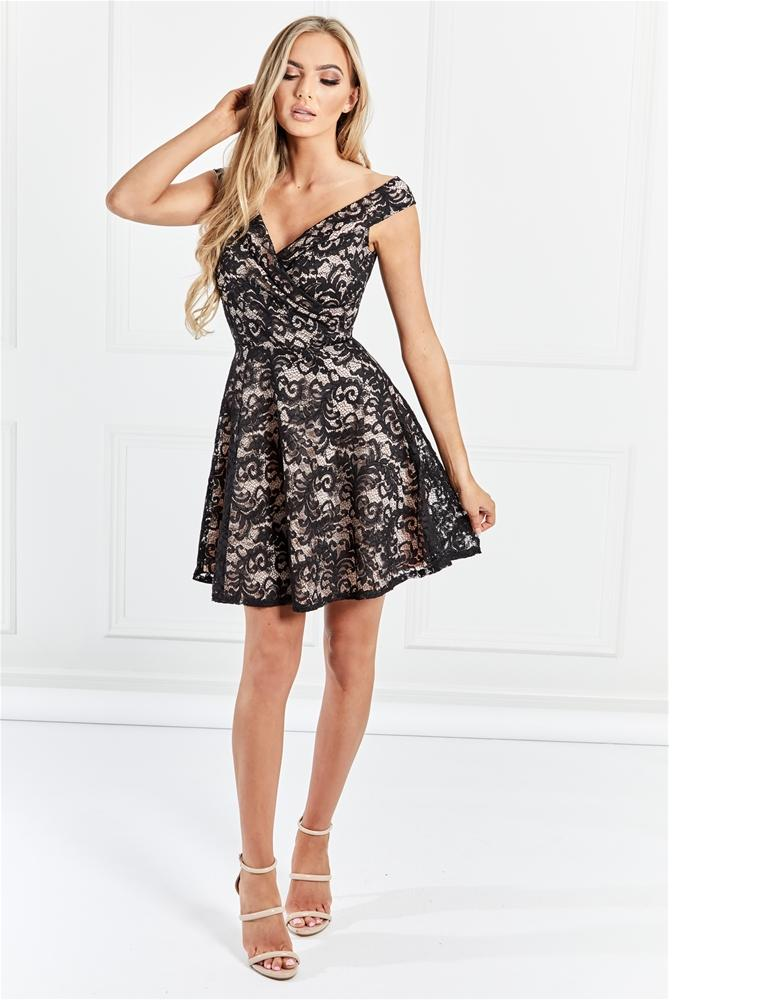 Marty Lace Mini Dress