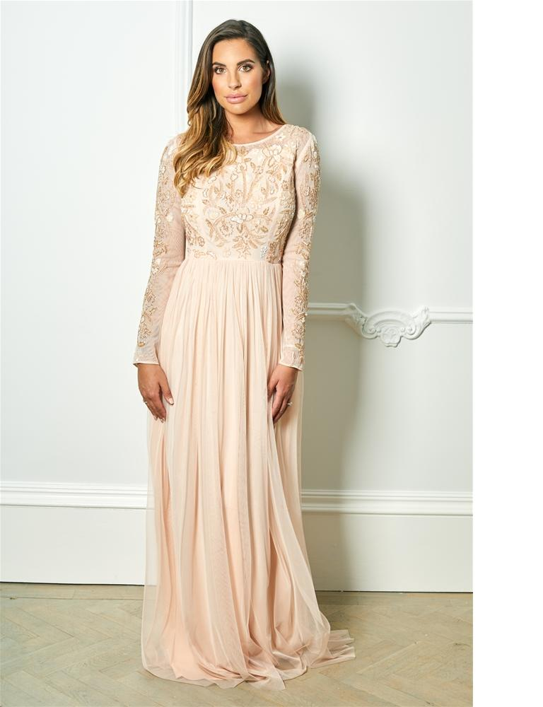 Texla embellished maxi dress