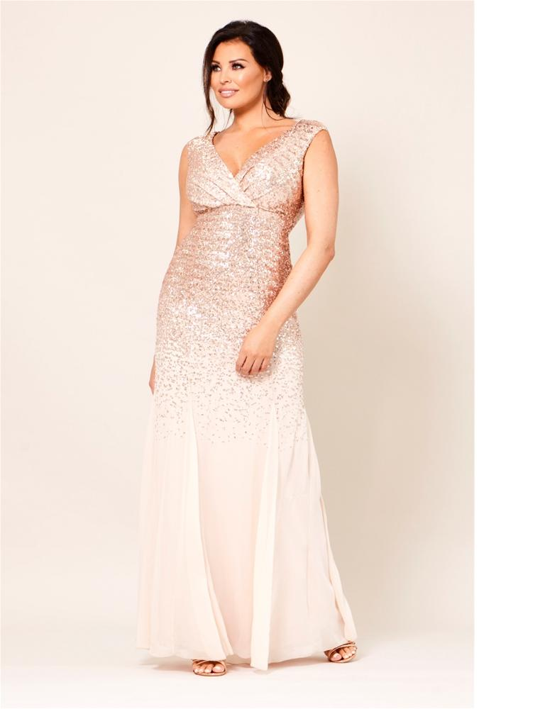 Orlinda Sequin Maxi Dress