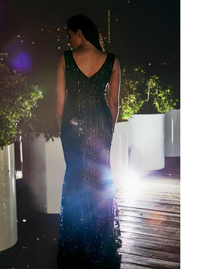 Olympia Sequin Maxi Dress
