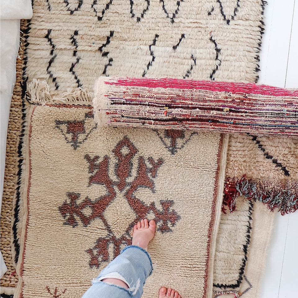 Imported Rugs~ Turkey + Morocco