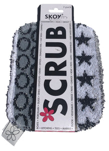 Skoy Scrubbies Monochrome 2 Pack