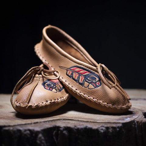 Ballet Moccasins Collab with Eric Parnell Jr~ Saddletan