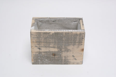 Wooden Rectangular Planter~ Lined(Small)