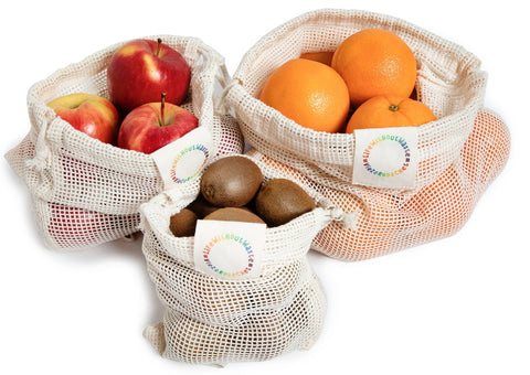 Mesh Produce Bags~Set of 3