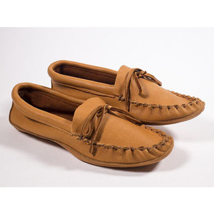 Double Sole Deer Moccasins~ Saddletan