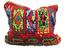 Prismatic Boujad Pillow