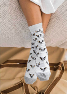 Pima Cotton Sock~ Frenchie