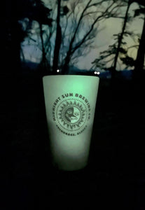 Glow-In-The-Dark Silicone pint