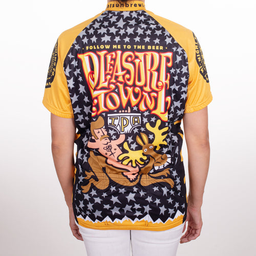 Pleasure Town Short Sleeve Bike Jersey