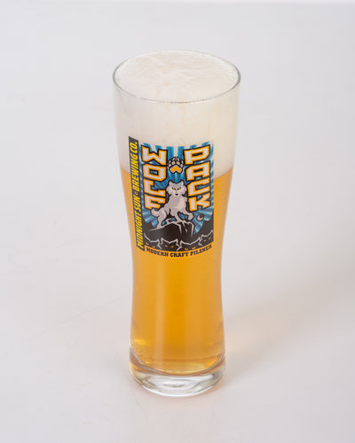 Wolf Pack Pilsner Glass