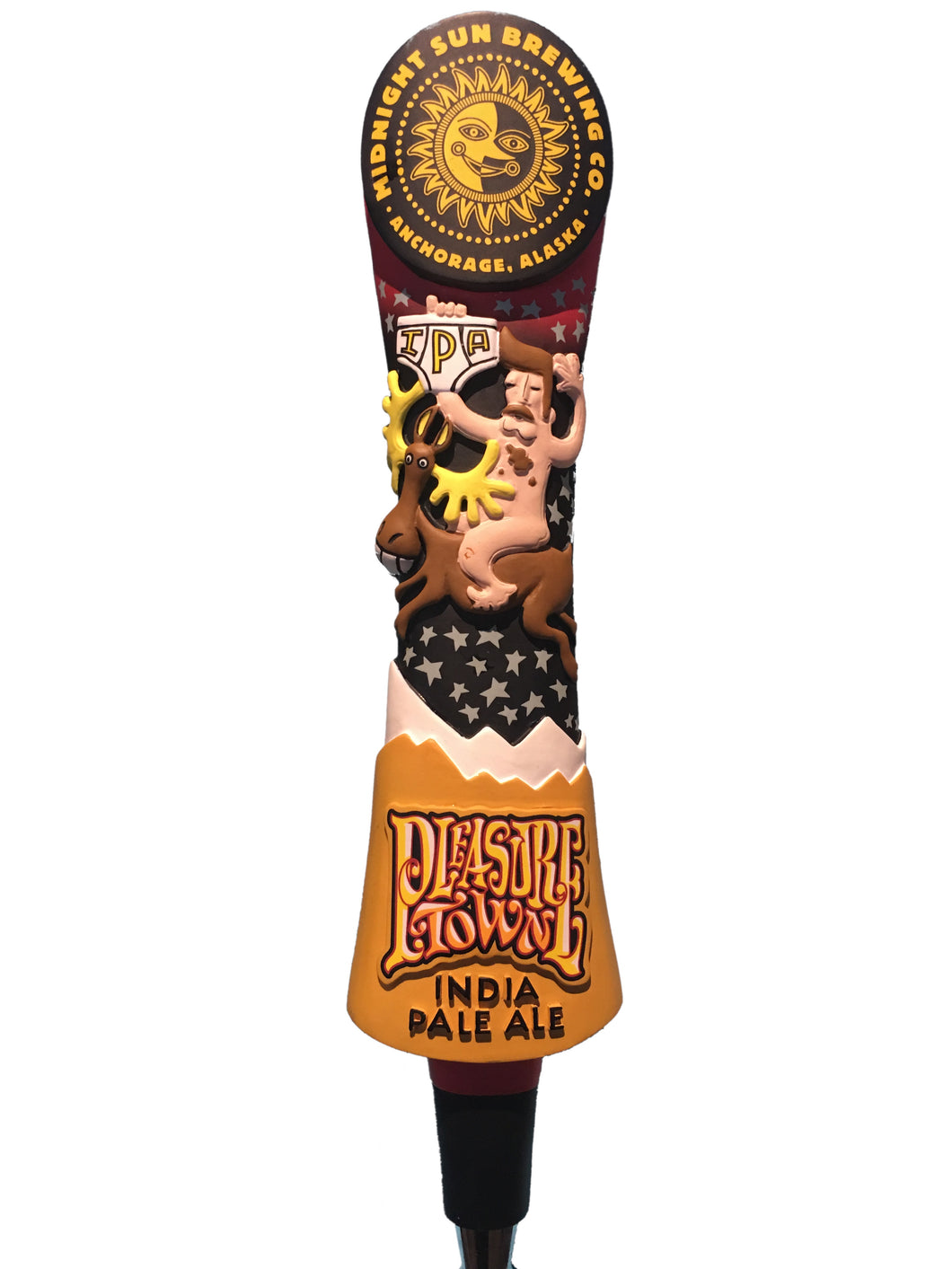 Pleasure Town Tap Handle