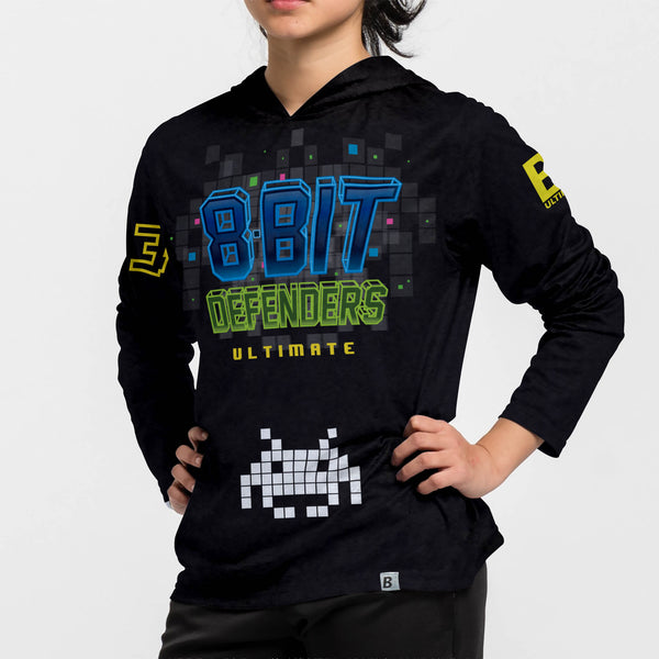 Full Sub N-Knit Sun Hoodie Dark | Indianapolis 8-Bit Defenders Team Store
