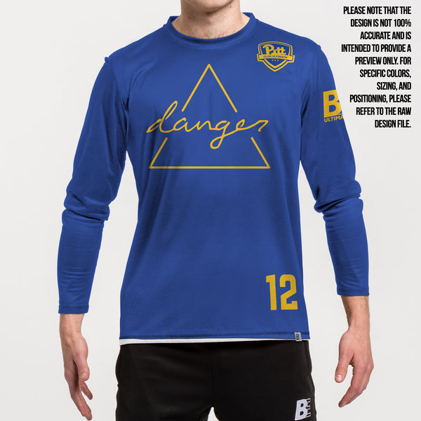 Full Sub N-Knit Long Sleeve Blue | University of Pittsburgh Danger 2021