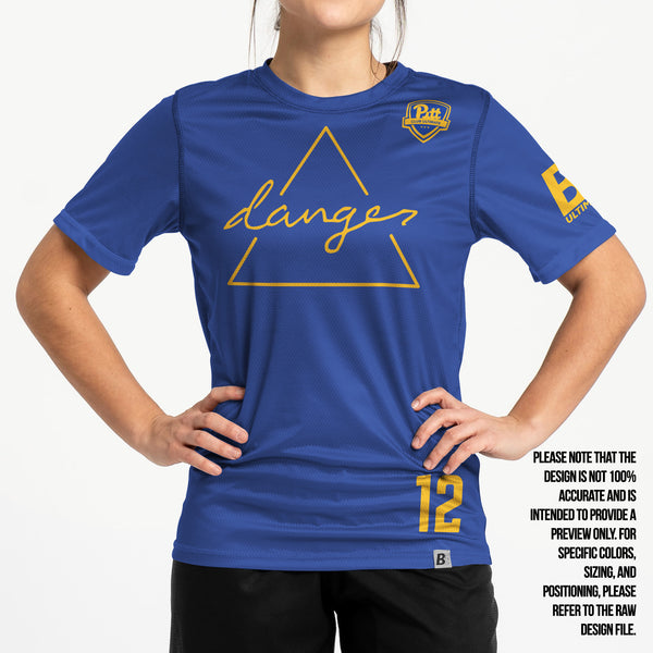 Full Sub N-Knit Short Sleeve Blue | University of Pittsburgh Danger 2021