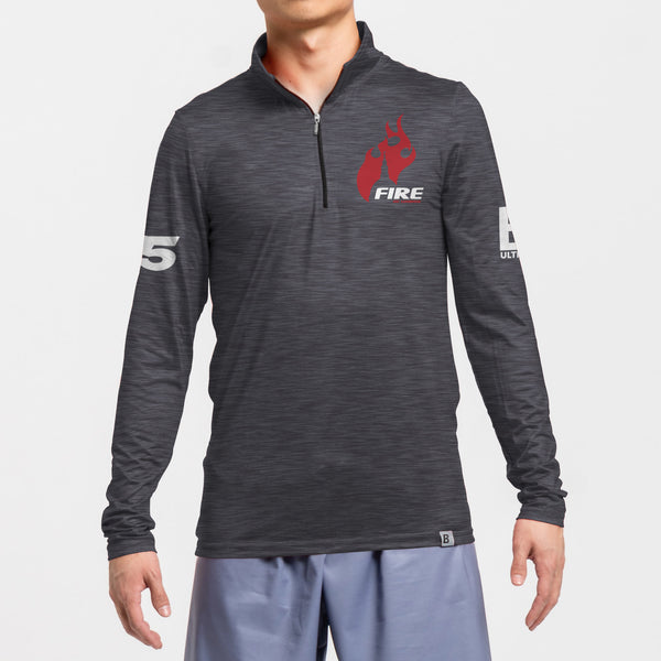 Full Sub Softflex 1/4 Zips Long Sleeve | London Fire of London 2020