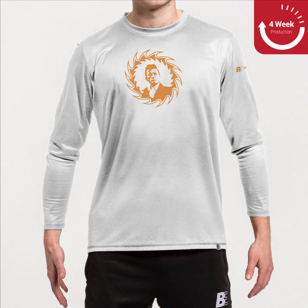 Logo Training Shirt Long Sleeve | Raleigh Ring of Fire