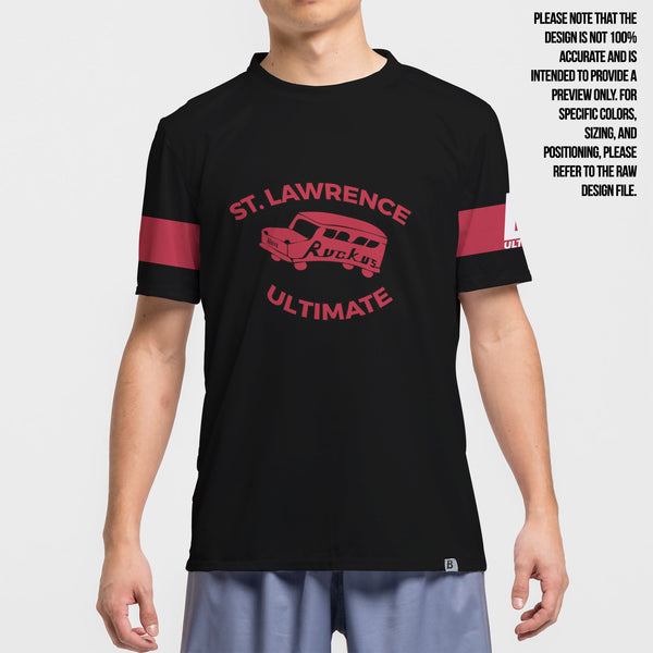 Full Sub N-Knit Short Sleeve Dark 2019 | St Lawrence Ruckus Bus Alumni Store
