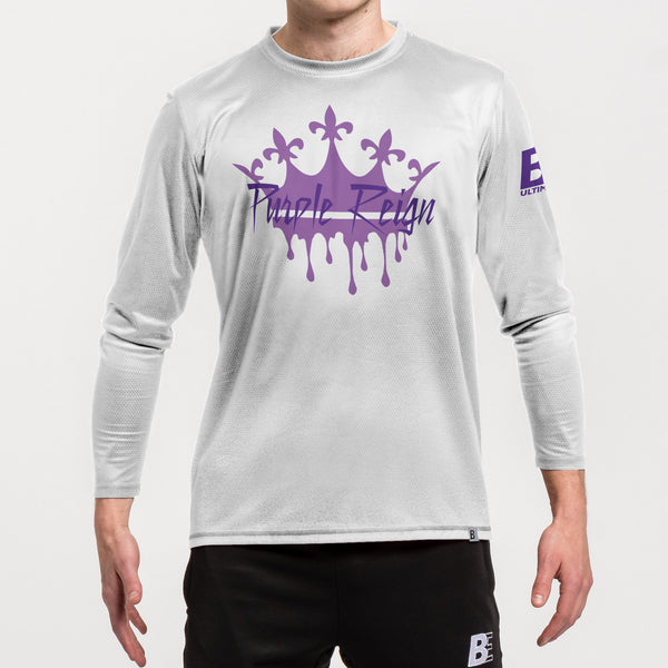 Spot Sub N-Knit Long Sleeve | University of St. Thomas Purple Reign Spring 2021
