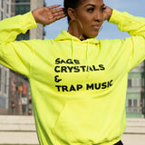 Sage, Crystals & Trap Music - Unisex Hoodie & Sweatshirt (MORE COLORS AVAILABLE)