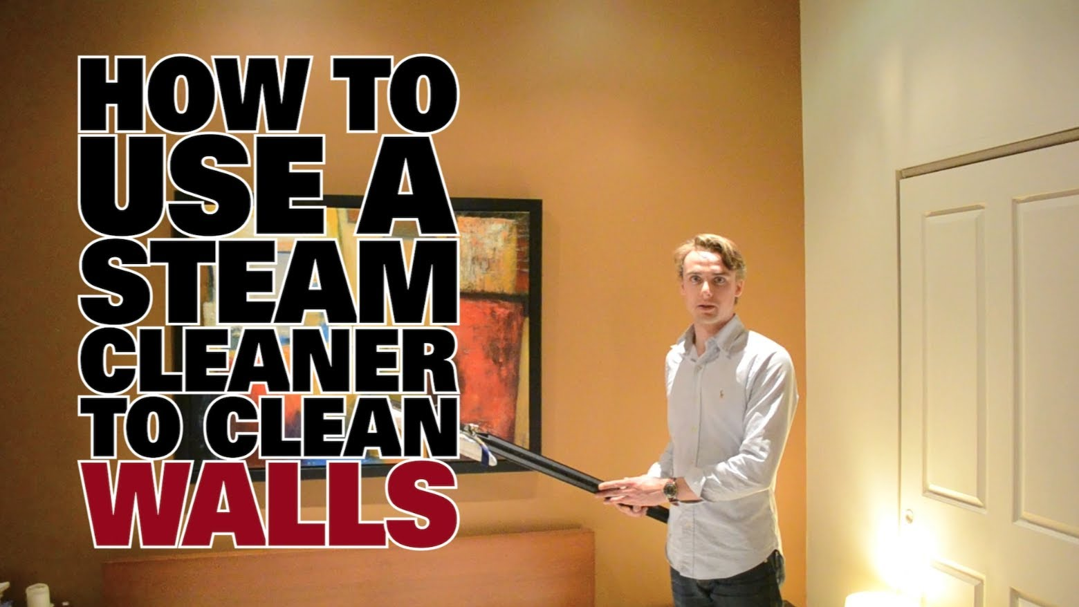 How To Use A Steam Cleaner To Clean Walls Dupray Steam Cleaners Dupray Ca