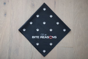 For the Bite Reasons Bandana (Black)