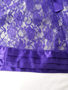 Childrens Cap Sleeve Jona Michelle Fancy Lace Long Dress Size 7