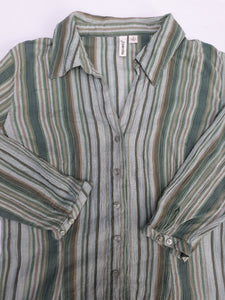 Womens St. John's Bay 3/4 Sleeve Blouse Size Small