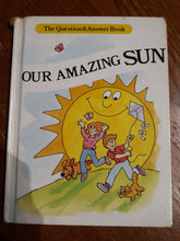 "Childrens Vintage Hardcover Book ""Our Amazing Sun"""